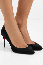 Eloise 85 suede pumps