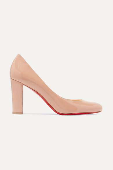 383ae887600 Lady Gena 85 patent-leather pumps