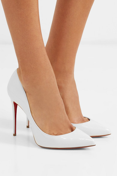 half off 6fd65 5eea7 Christian Louboutin | Pigalle Follies 100 patent-leather ...