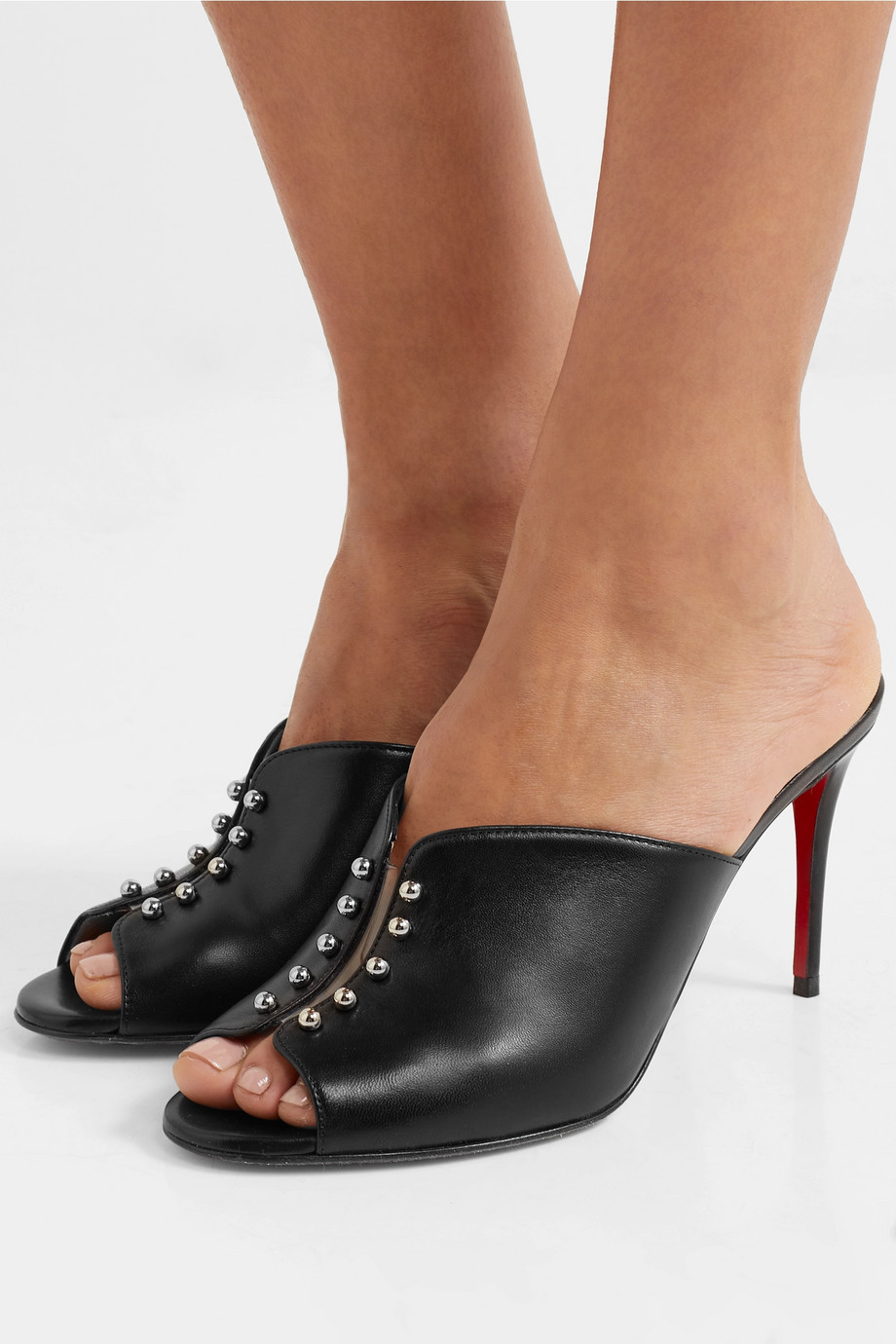 Christian Louboutin Predumule 85 studded leather mules