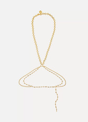 Chloé Gold-tone body chain
