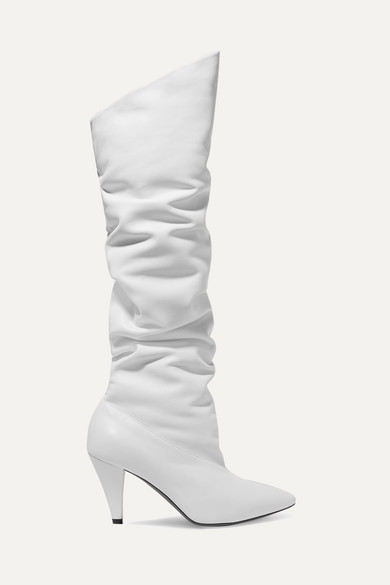Leather Knee Boots by Givenchy