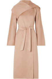 Gail belted cashmere coat