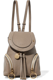 See By Chloé Olga small textured-leather backpack