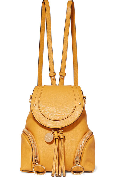 e4148032 Olga small textured-leather backpack