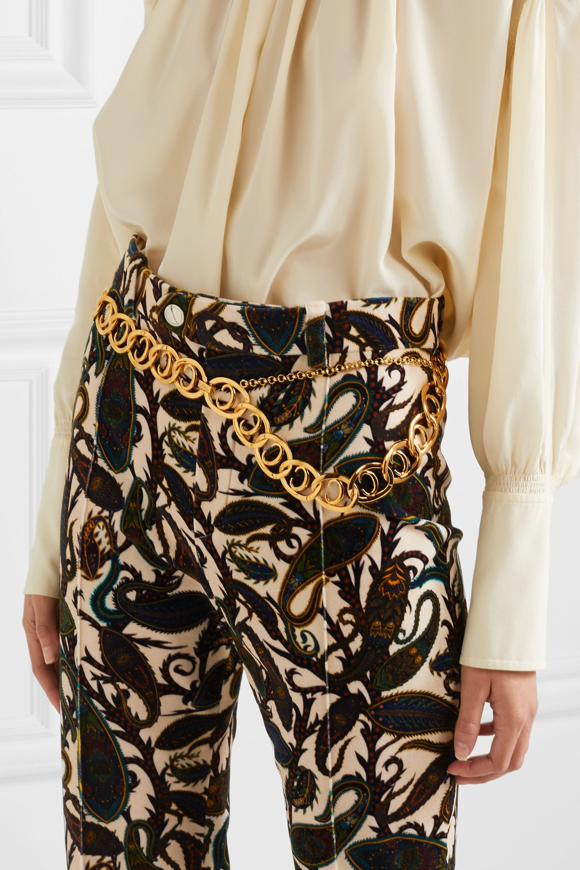 Chloé Gold-tone belt