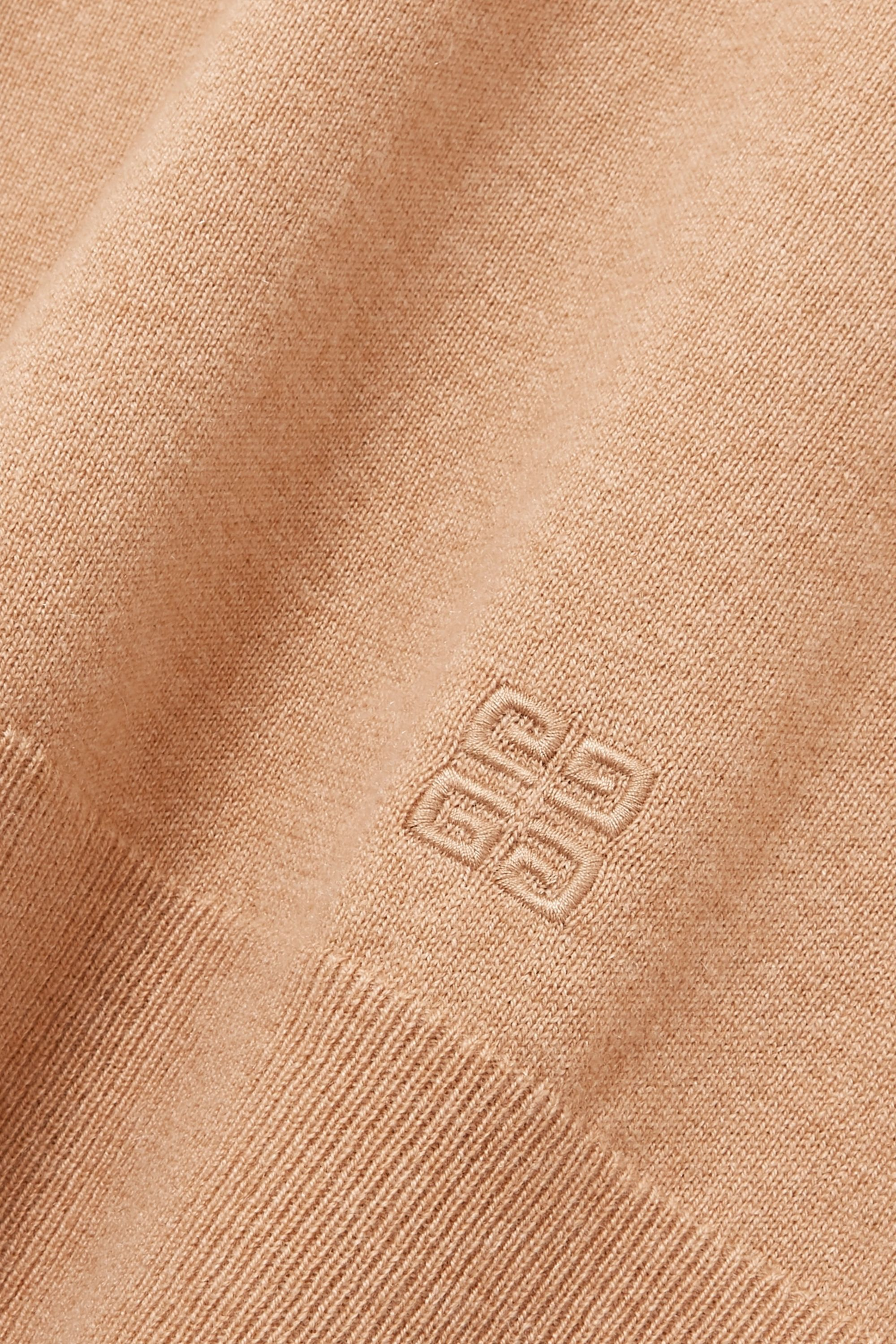 Givenchy Embroidered cashmere turtleneck sweater