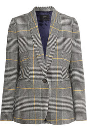 Parke Prince of Wales checked tweed blazer