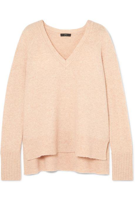 Camel Knitted sweater  | J.Crew ZHd8YN