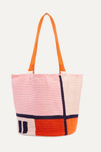 Sophie Anderson Jonas color-block woven tote 0856e05af4cd8