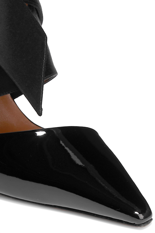 Altuzarra Satin and patent-leather pumps