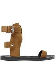Isabel Marant Janders buckled suede sandals