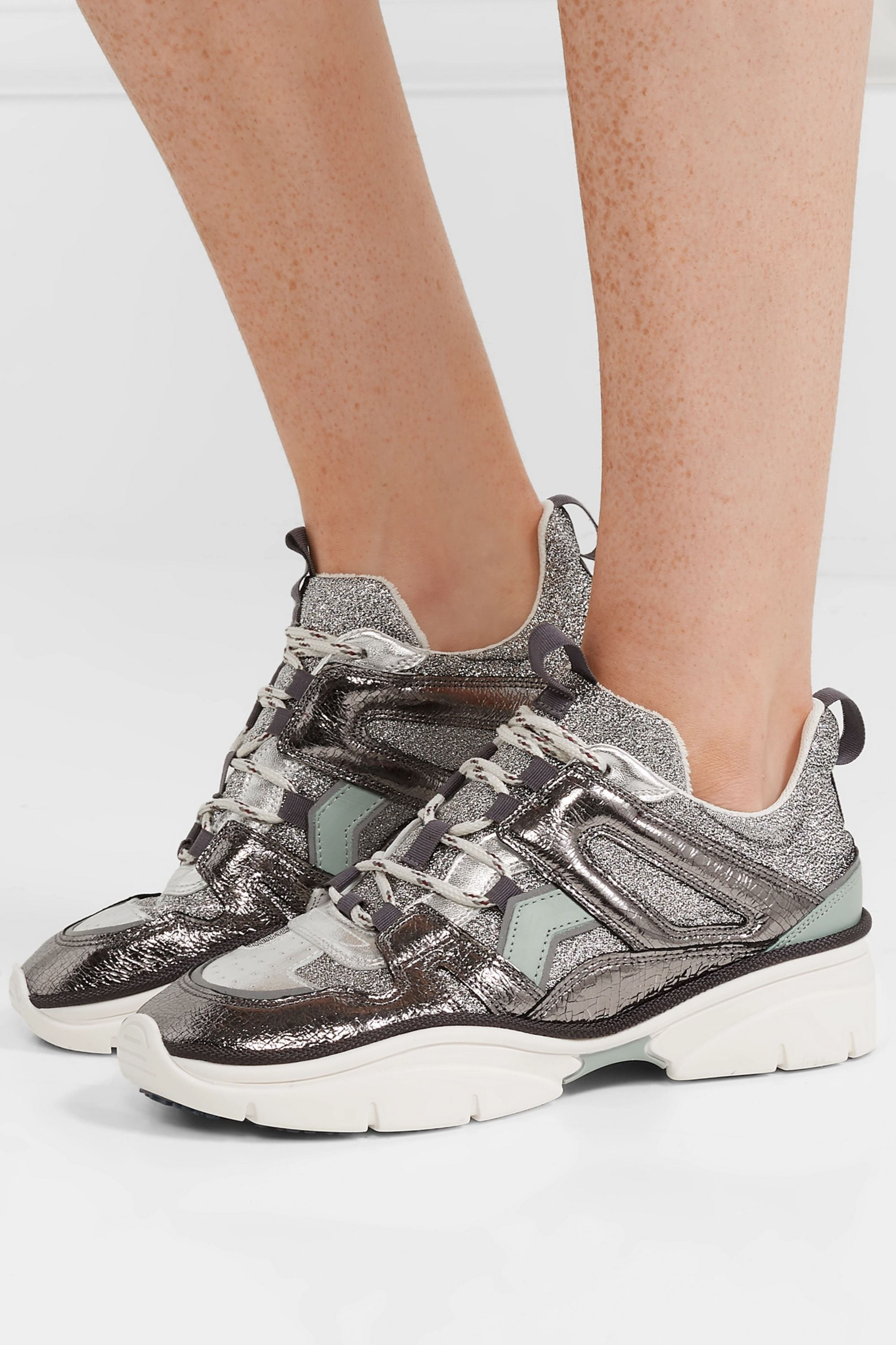 smooth leather sneakers   Isabel Marant