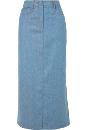 Agnona Wool and cashmere-blend midi skirt