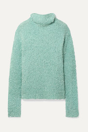 Sies Marjan Sukie oversized bouclé turtleneck sweater