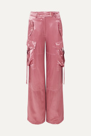 Sammie satin wide-leg pants