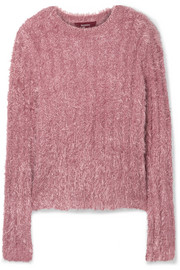 Sies Marjan Margo ribbed Lurex sweater