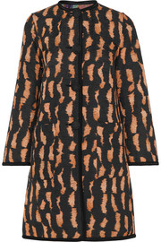 Etro Reversible cotton-blend jacquard coat
