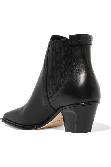 Jimmy Choo Boots Mitzi 60 leather ankle boots