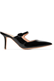 Tosca patent-leather mules