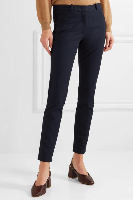 New Eliston stretch-gabardine slim-leg pants