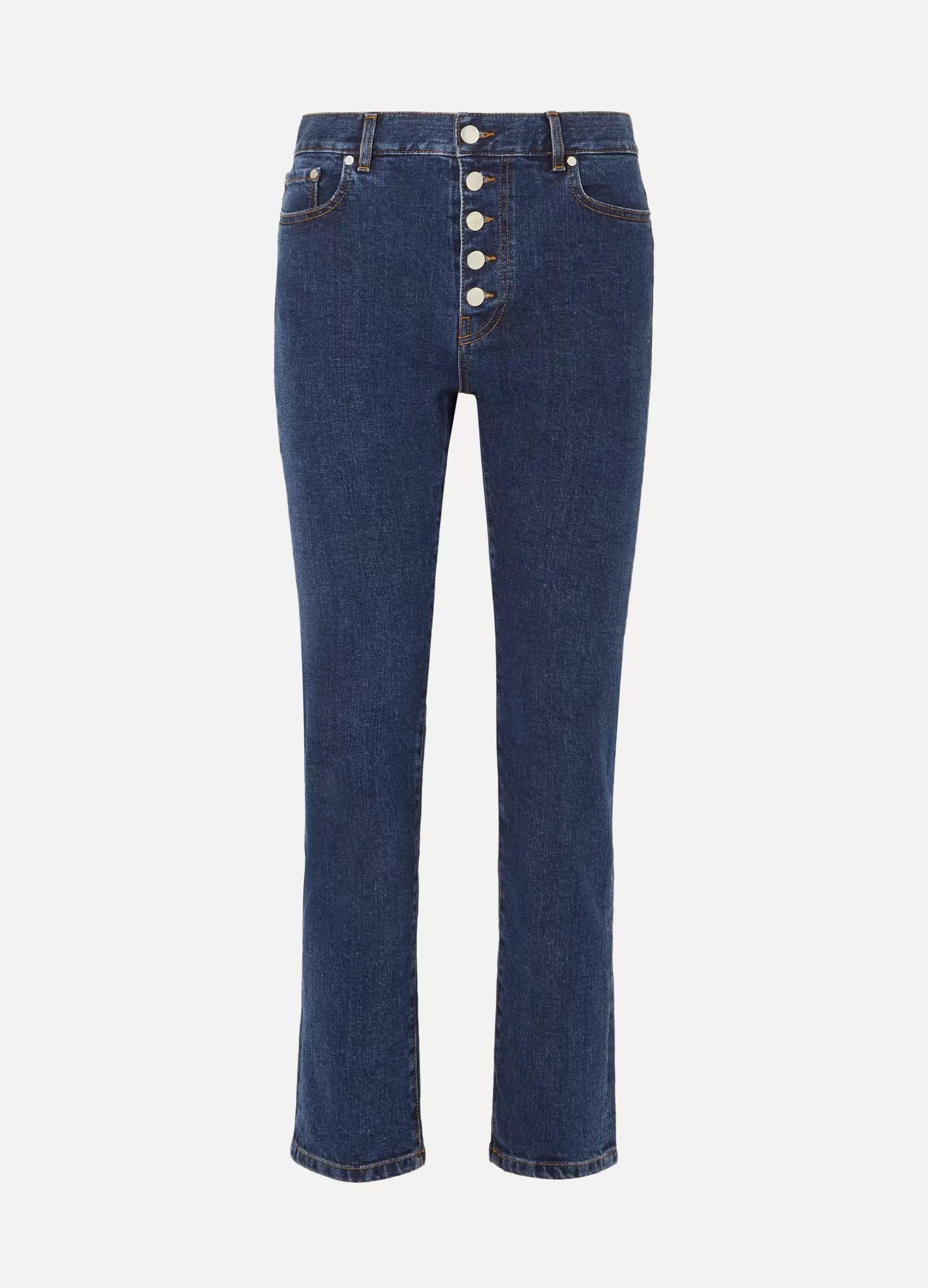 Joseph Den high-rise straight-leg jeans