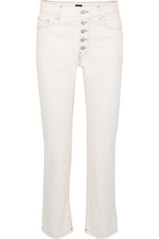 Den high-rise straight-leg jeans