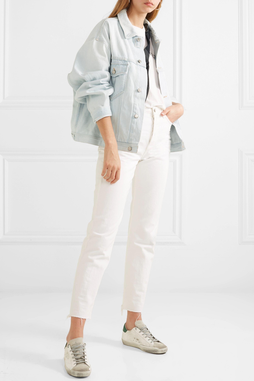 Light denim Demi oversized denim jacket