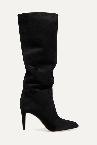 Similar Calf Length Suede Boots