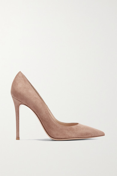 105 Suede Pumps by Gianvito Rossi