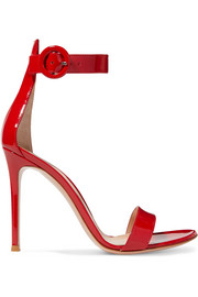 Portofino 110 patent-leather sandals