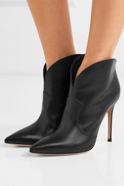 Mable 105 leather ankle boots