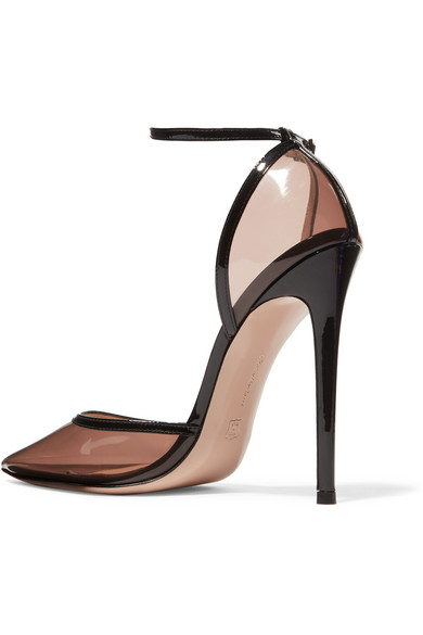 Gianvito Rossi Pumps 110 PVC and patent-leather pumps