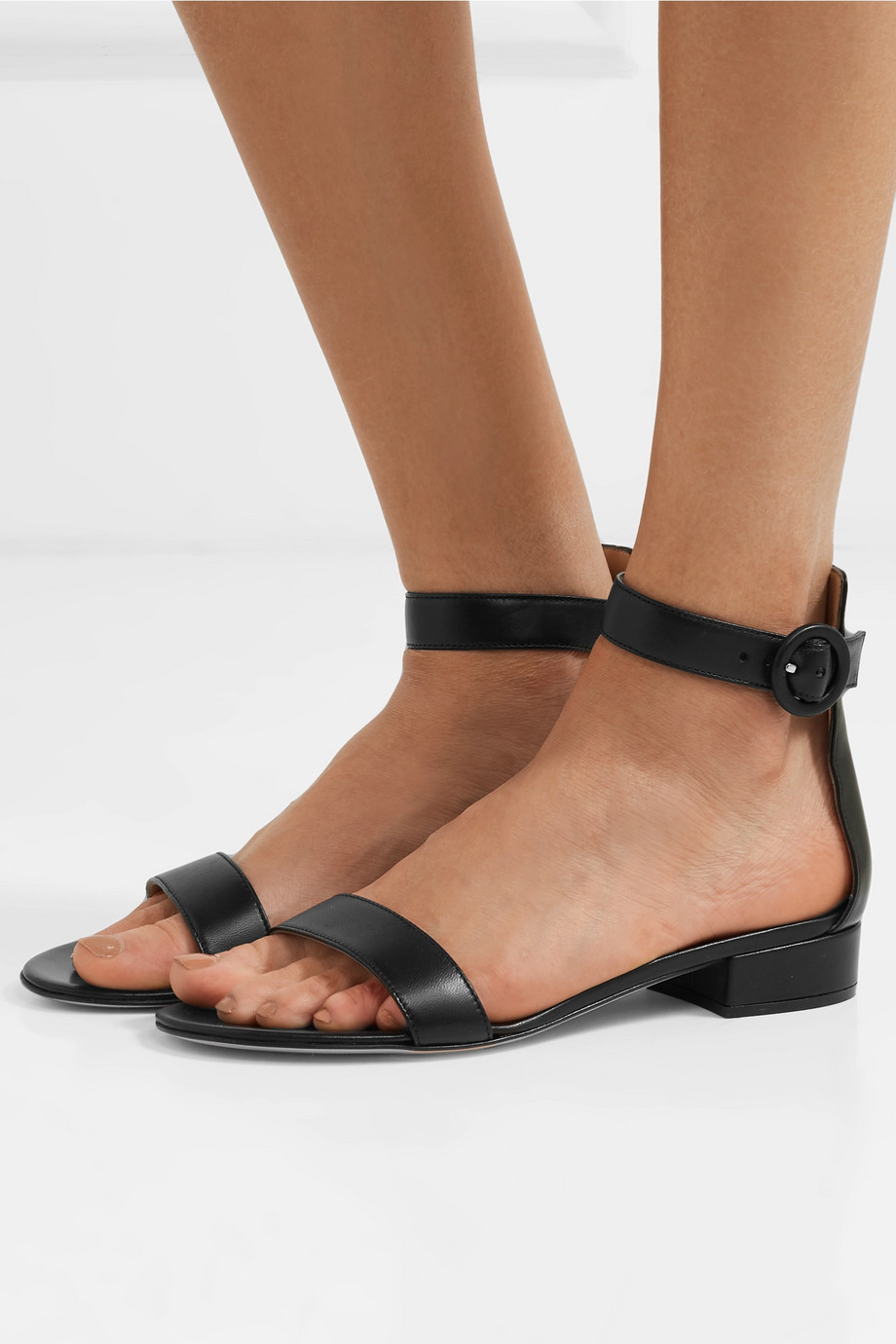 Gianvito Rossi Versilia 20 leather sandals