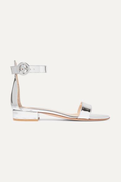 GR Flat Sandals Silver