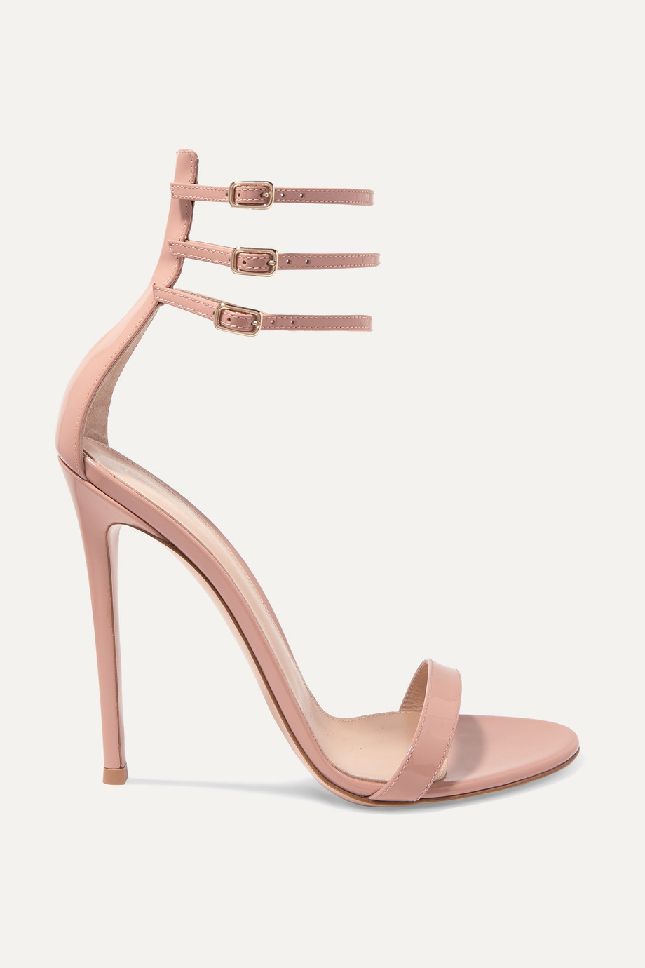 56c5162c1f Gianvito Rossi Lacey 115 patent-leather sandals