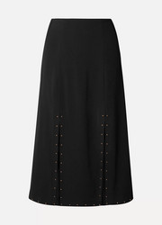 See By Chloé Embellished crepe midi skirt