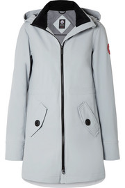 Avery hooded shell jacket