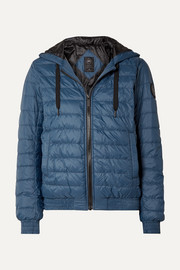 Richmond hooded quilted shell down jacket