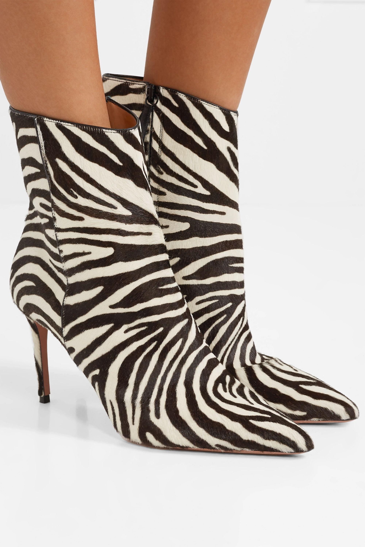 Zebra print Alma 85 zebra-print calf