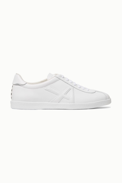 The A Leather Sneakers in White
