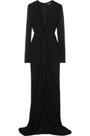 TOM FORD Twist-front stretch-jersey gown