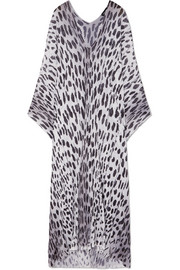 TOM FORD Printed knitted kaftan