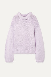 Tibi Oversized cotton-blend sweater