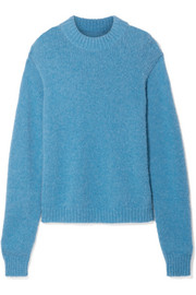 Cozette oversized alpaca-blend sweater