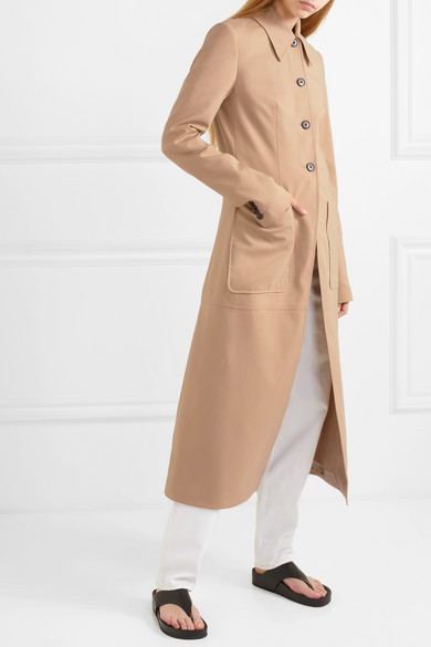 Wool Blend Trench Coat by 3.1 Phillip Lim