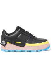 Air Force 1 Jester XX color-block textured-leather platform sneakers