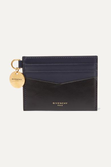 Zweifarbiges Kartenetui Aus Leder by Givenchy