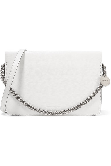 c0e2fcff256d Givenchy. Cross3 two-tone textured-leather and suede shoulder bag