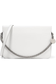 Givenchy Cross3 two-tone textured-leather and suede shoulder bag